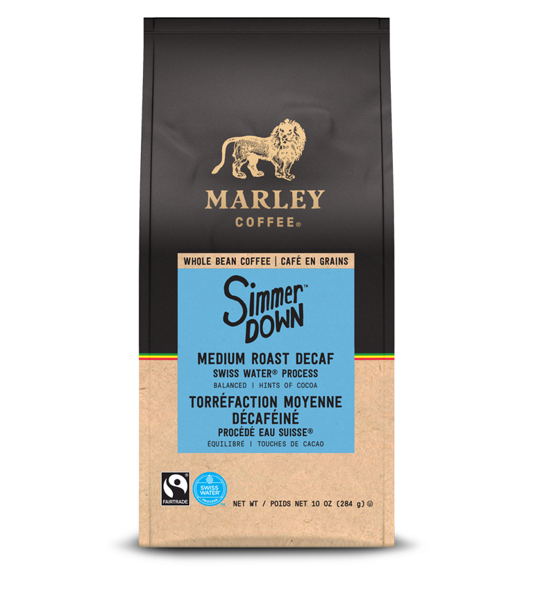Marley's coffee - simmer down